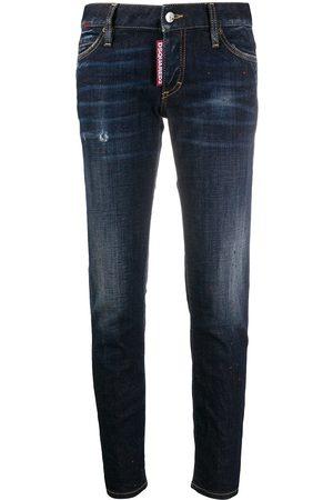 Dsquared2 Logo patch slim-fit jeans