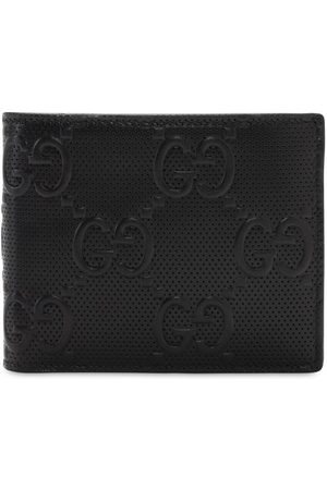 Gucci Gg Debossed Leather Wallet