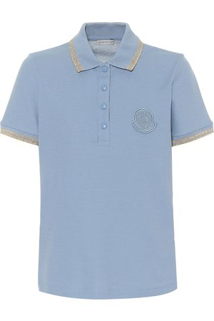 Moncler Dames Poloshirts - Cotton piqué polo shirt