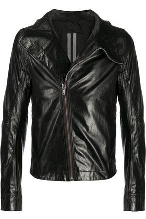 Rick Owens Oversize collar biker jacket