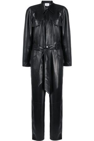 Nanushka Ashton vegan leather jumpsuit