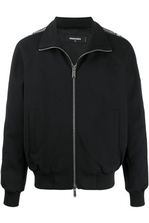 Dsquared2 Logo zipped bomber jacket