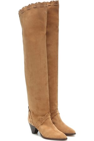 Isabel Marant Luiz suede over-the-knee boots