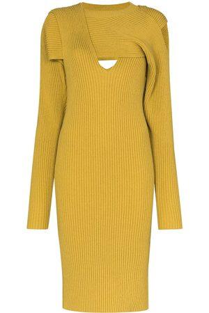 Bottega Veneta Cut-out knitted dress