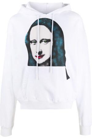OFF-WHITE MONALISA OVER HOODIE BLACK
