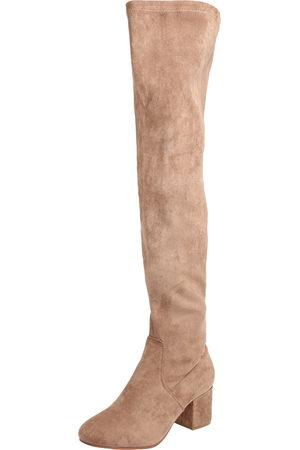 ABOUT YOU Dames Hoge laarzen - Overknee laarzen 'Finya