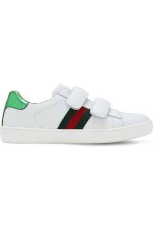 Gucci Meisjes Sneakers - New Ace Leather Sneakers