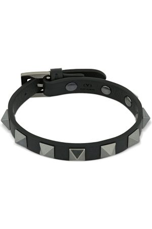 VALENTINO GARAVANI Heren Armbanden - Rockstud Leather Belt Bracelet