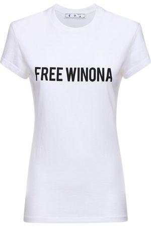 OFF-WHITE Free Winona Cotton Jersey T-shirt