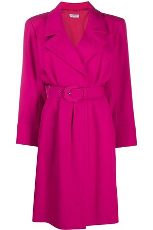 Yves Saint Laurent Notched collar dress
