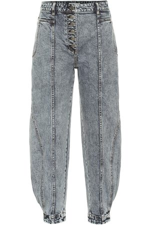 ULLA JOHNSON Dames High waisted - Brodie high-rise tapered jeans