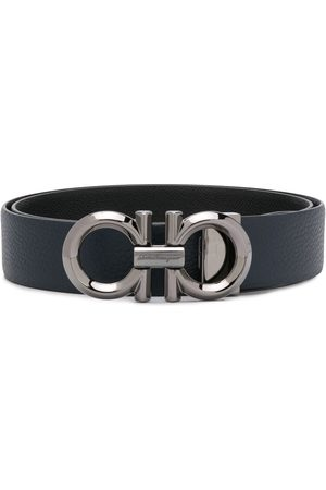 Salvatore Ferragamo Gancini buckle leather belt