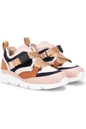 Chloé Buckle fastening low-top sneakers