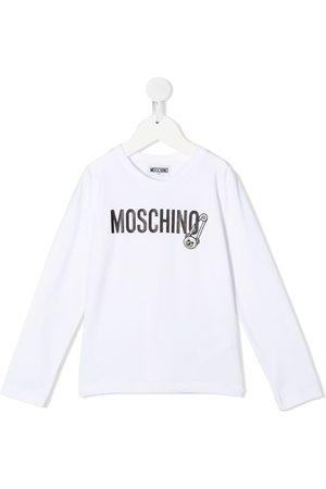 Moschino Long-sleeve logo T-shirt