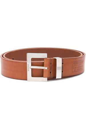 Gianfranco Ferré 2000s logo buckle belt