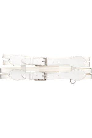 Gianfranco Ferré 2000s double strap belt