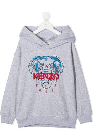 Kenzo Disco Jungle embroidered hoodie