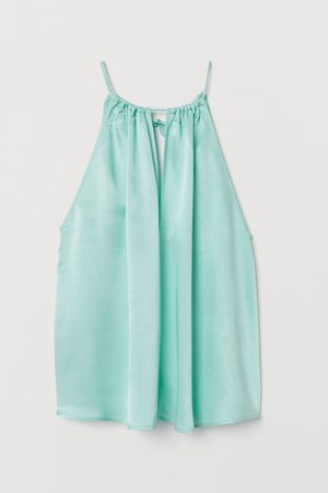H&M Mouwloos topje - Turquoise