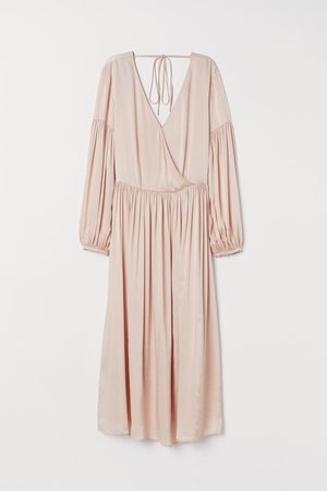 H&M Satijnen jurk