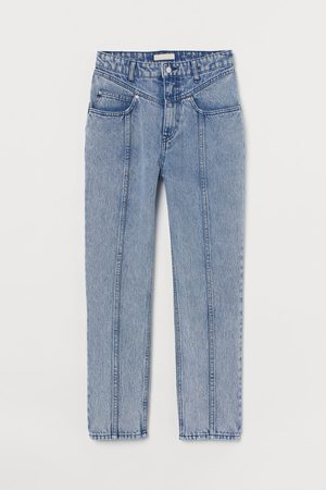 H&M Tapered High Ankle Jeans