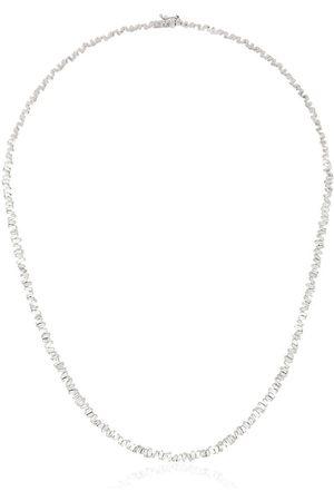 Suzanne Kalan Fireworks 18kt white gold diamond necklace