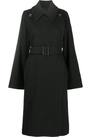 Rick Owens Belted military-inspired coat