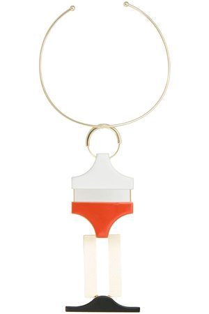 OSKLEN Obstacle pendant necklace