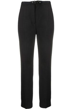 Prada Slim-fit buckled trousers