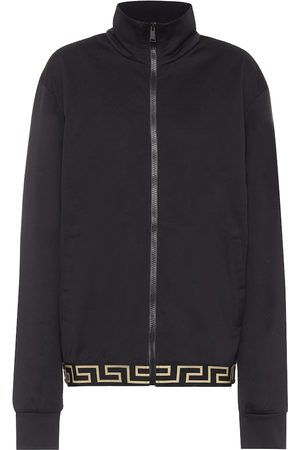 VERSACE Cotton-blend jacket