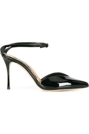Sergio Rossi Patent leather 100mm pumps