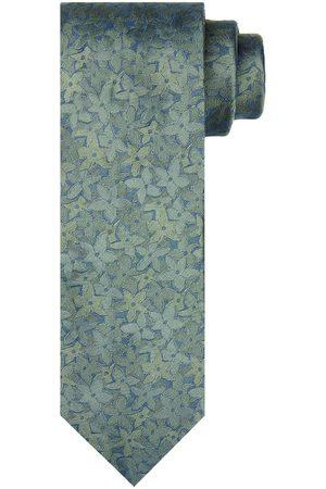 Profuomo Heren Groene bloemenprint stropstropdas heren