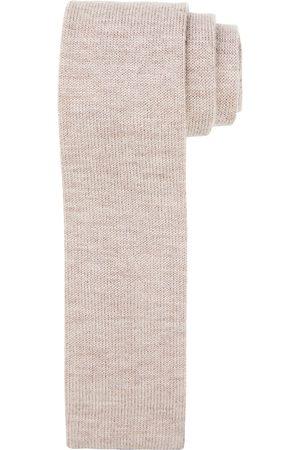 Profuomo Camel knitted kasjmier stropstropdas heren