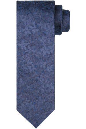 Profuomo Blauwe bloemenprint stropstropdas heren