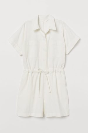H&M Katoenen playsuit