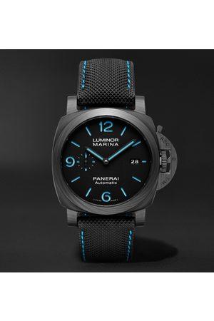 PANERAI Heren Horloges - Luminor Marina Automatic 44mm Carbotech and Sportech Watch, Ref. No. PAM01661