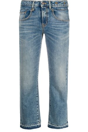R13 Boy mid-rise straight jeans