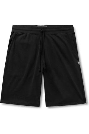 Reigning Champ Mélange Loopback Pima Cotton-Jersey Drawstring Shorts