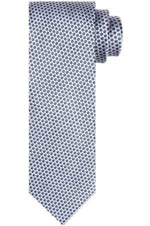 Profuomo Lichtblauwe zijden stropstropdas heren