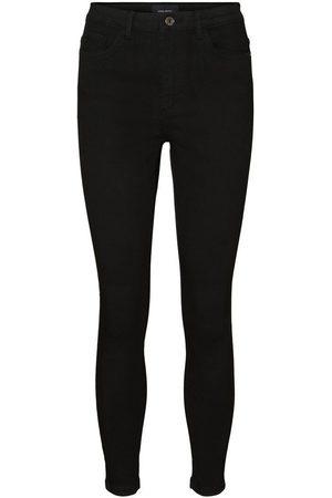 Vero Moda Dames High waisted - Vmsophia High Waisted Skinny Fit Jeans Dames Zwart