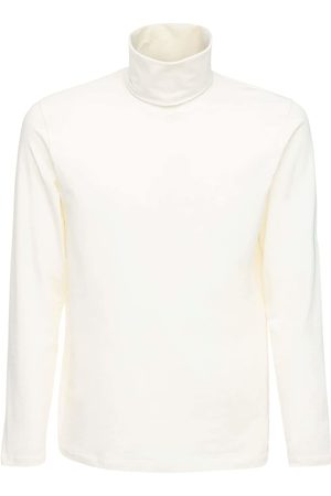Jil Sander Heren Coltruien - Plus Organic Cotton Turtleneck T-shirt