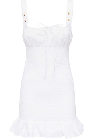 Ciao Lucia Cara Elastic Washed Cotton Mini Dress
