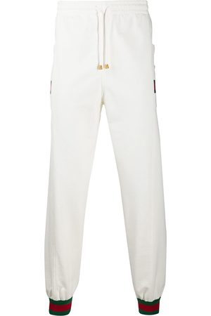 Gucci Web stripe sweatpants