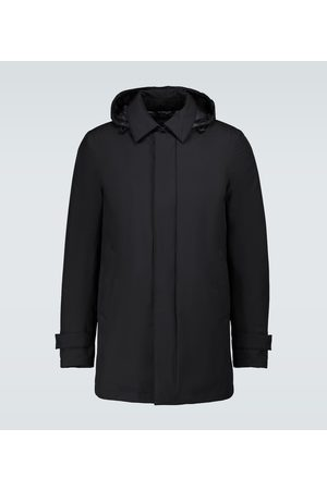 HERNO Lightweight down-filled raincoat
