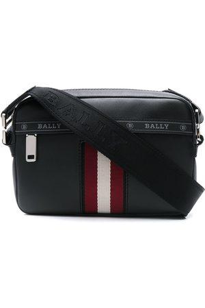 Bally Hal striped crossbody bag