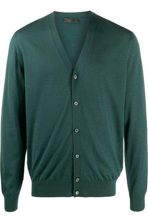 Prada V-neck long-sleeve cardigan