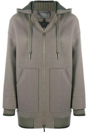 LORENA ANTONIAZZI Hooded sports coat