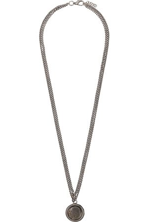 Gianfranco Ferré 2000s face pendant necklace