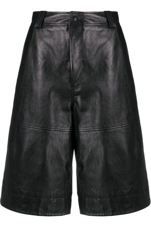 Ganni Knee-length lambkin shorts