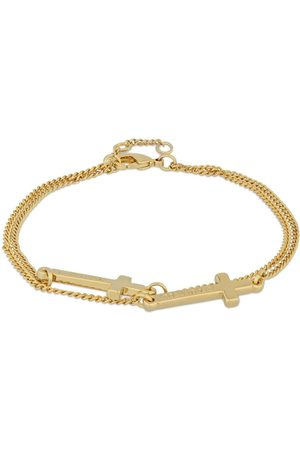 Dsquared2 Cross Double Chain Bracelet