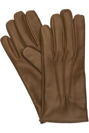 MARIO PORTOLANO Leather Gloves
